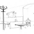 #1090 Empty Cafe